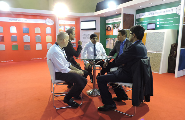 Flowcrete India Exhibits its Innovative Solutions to ACETECH's Attendees