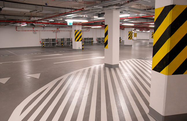 Flowcrete Poland's Biggest Project at the Country's Tallest Office Building