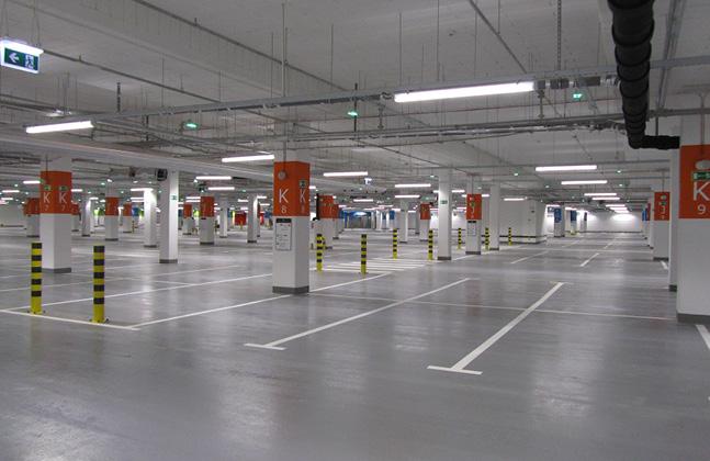 Poland's Biggest Shopping Centre Installs Deckshield Car Park Decking