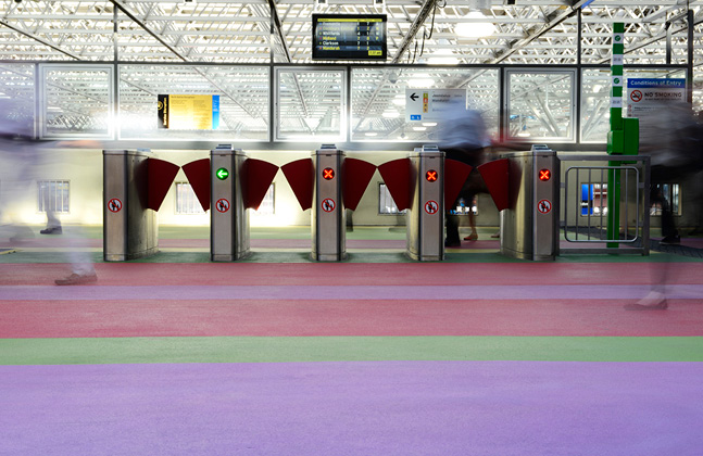Perth Train Station Creates 2,650m2 of Art2