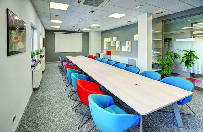 A Masterclass in Office Flooring