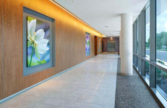 Decorative Hospital Concourse