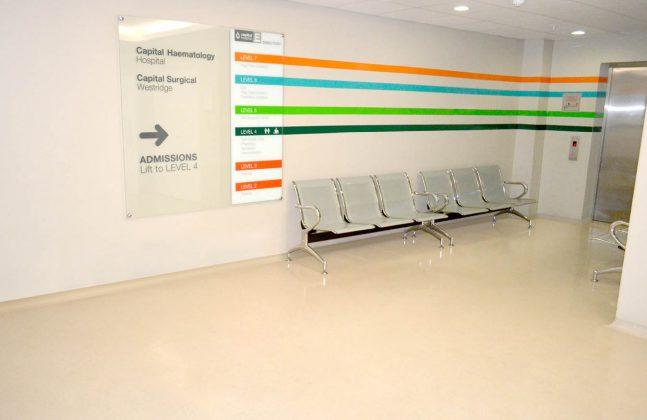 Hospital Concourse Flooring
