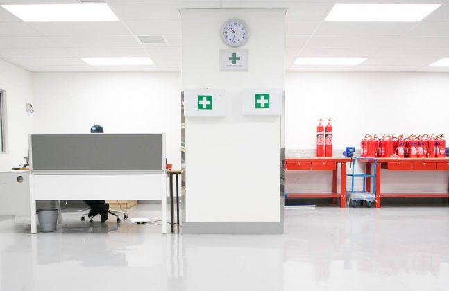 Hygienic Hospital Flooring